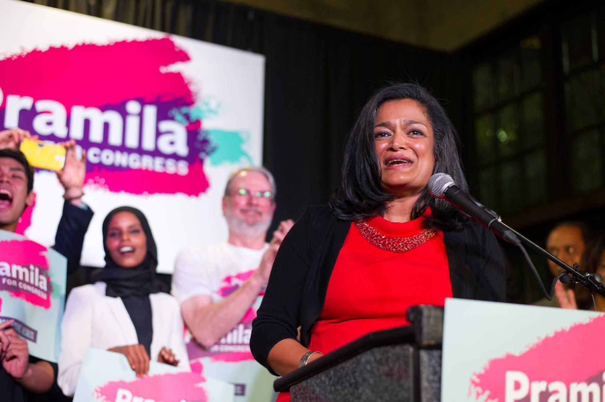 Stand with Pramila Jayapal