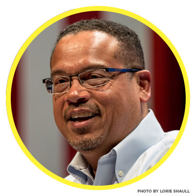 Keith Ellison! Our 2017 speaker. Click here to RSVP