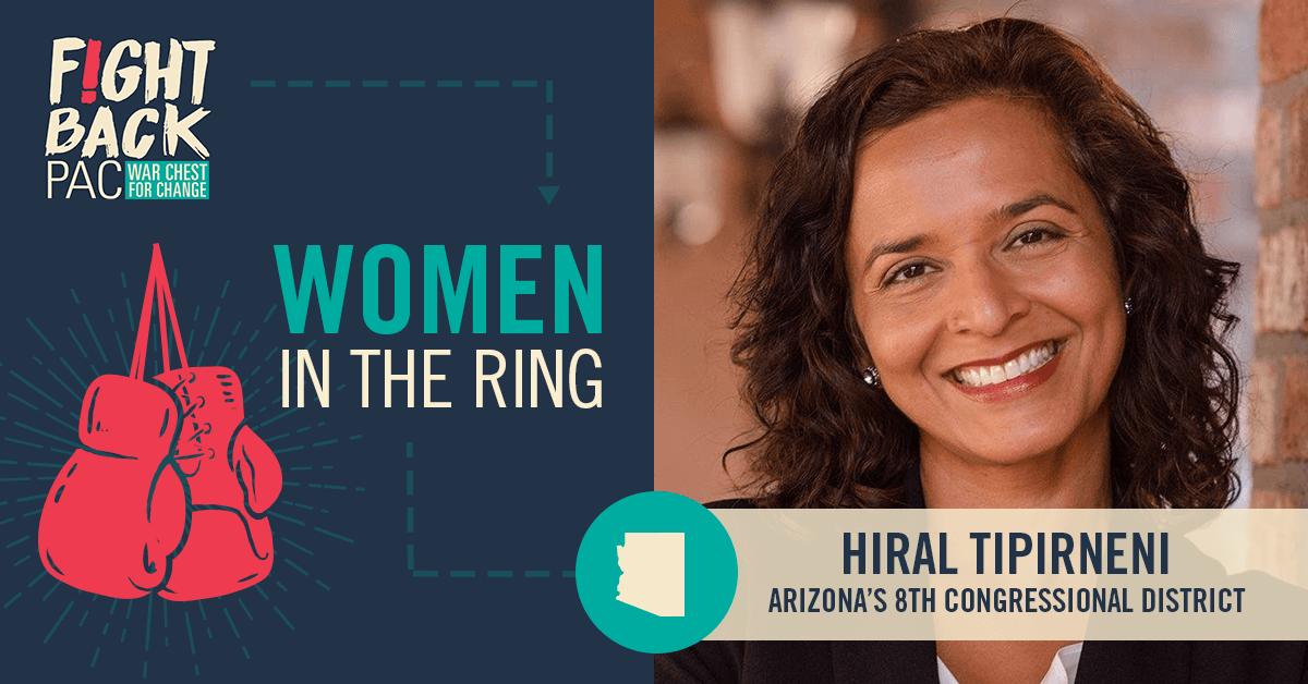 Women in the Ring: Hiral Tipirneni