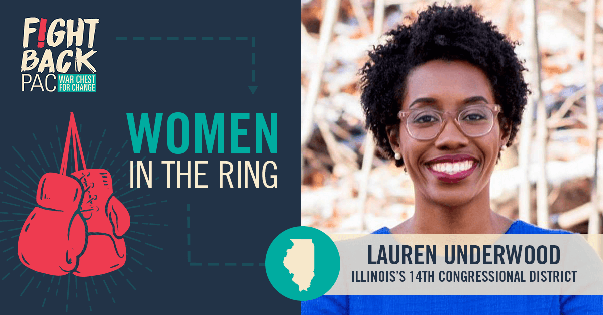 Women in the Ring: Lauren Underwood