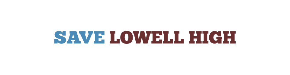 Save Lowell High Committee