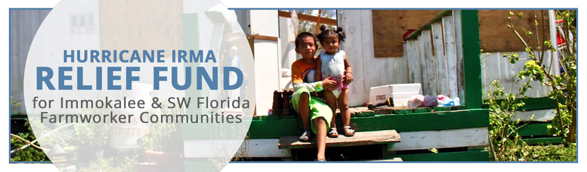 Hurricane Relief Fund for Immokalee and other Farmworker Communities in Florida