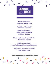 Annie Rice