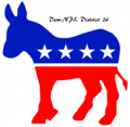 Image of District 26 Democratic-NPL (ND)