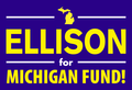 Image of Ellison for Michigan