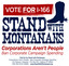 Image of I-166: StandwithMontanans, Corporations Aren't People, Ban Corporate Campaign Contributions