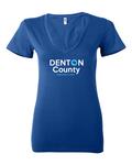Denton Democrat T-Shirt V-neck