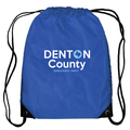 Denton Democrat Drawstring Bag
