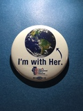 I'm With Her! - 1 Button