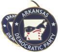 Democratic Party of Arkansas Lapel Pin