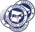 Democratic Party of Arkansas Sticker