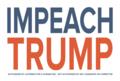 1 (One) Impeach Trump Sticker