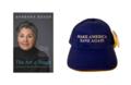 Book + Blue Hat