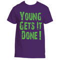Young Gets It Done Purple Shirt