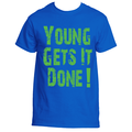Young Gets It Done Blue Shirt