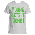 Young Gets It Done Gray Shirt