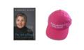 Book + Pink Hat