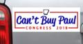 """""""Can't Buy Paul"""" bumper sticker"""