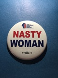 Nasty Woman - 2 Buttons