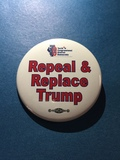 Repeal & Replace Trump - 2 Buttons
