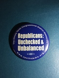 Republicans: Unchecked - 2 Buttons