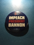Impeach President Bannon - 2 Buttons