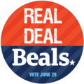 REAL DEAL Sticker