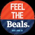 FEEL THE BEALS  Sticker