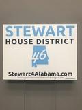 Stewart 46 Yard Sign