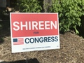 Shireen Yard Sign