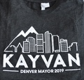 Kayvan for Denver Unisex T-shirt - Gray