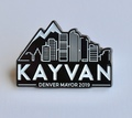 Kayvan for Denver Hat Pin