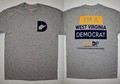 """I'm A WV Democrat"" T-shirt, Gray, Medium"