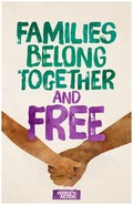 Families Belong Together and Free Poster