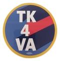 """TK 4 VA"" Round Sticker"