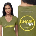 Women's Hemp V Neck shirt