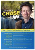 Chase For WV Platform Poster