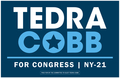 Tedra Cobb for Congress yard sign