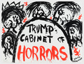 Judith Bernstein - Trump's Cabinet of Horrors
