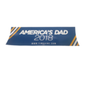 America's Dad Bumper Sticker