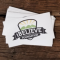 iBELIEVE Logo Sticker
