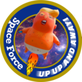 Baby Trump Space Force Commando Crew