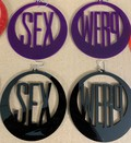 Sex Werq Earrings