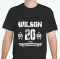 Wilson 2020 GA Shirt  - Black