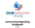 Community Organizing Guidebook