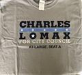Lomax for City Council T-Shirt - Medium