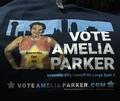 Vote Amelia Parker T-Shirt - Large