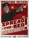 "Moscow Mitch ""Spread the Red"" Poster"