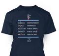 Build Bridges Unisex T-shirt