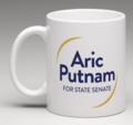 Aric for State Senate mug